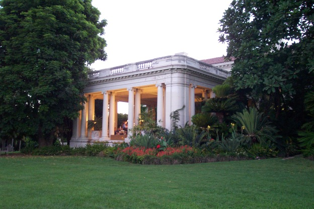 4. The Huntington Art Gallery Loggia